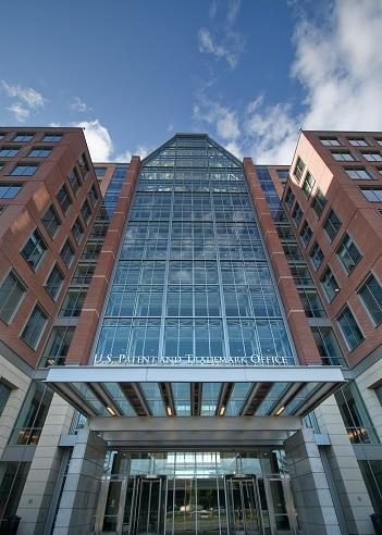 US Patent and Trademark Office in Alexandria, VA.